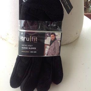 Brand new mens tru fit  gloves.
